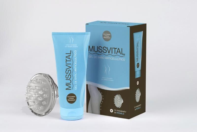 Gel de ducha anticelulítico Mussvital ¿funciona? - Blog de Belleza Cosmetica que Si Funciona