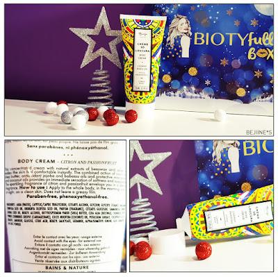"BIOTYfull Box ""La Festive"" crème baïja"