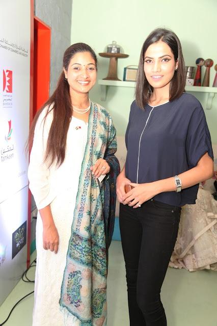 MLA Alka Lamba with Hida Siddiqui-min