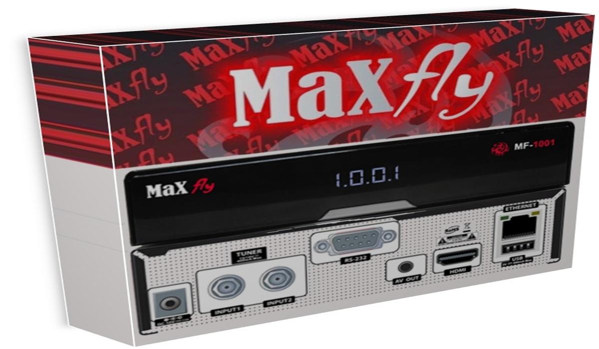 MAXFLY MF1001 HD NOVA ATUALIZAÇÃO V1.170 Maxfly