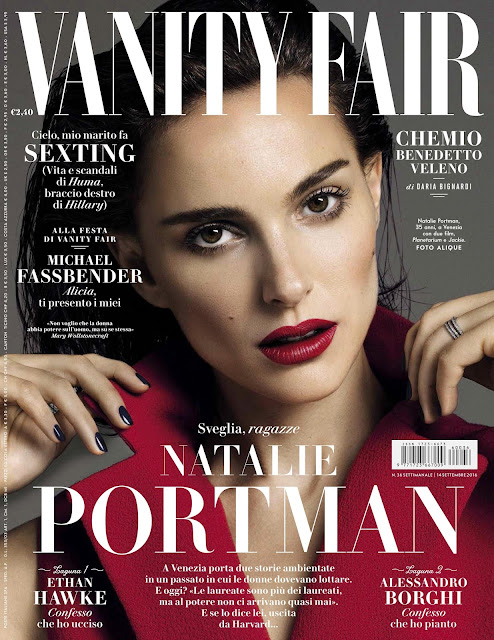 Actress, @ Natalie Portman - Vanity Fair Italia, September 2016