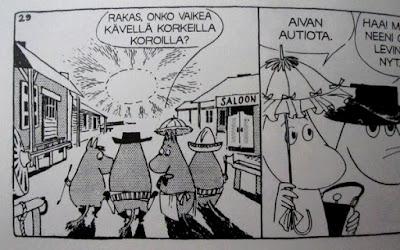 Pieni kirjasto: Tove Jansson - Muumit: Sarjakuvaklassikot IV