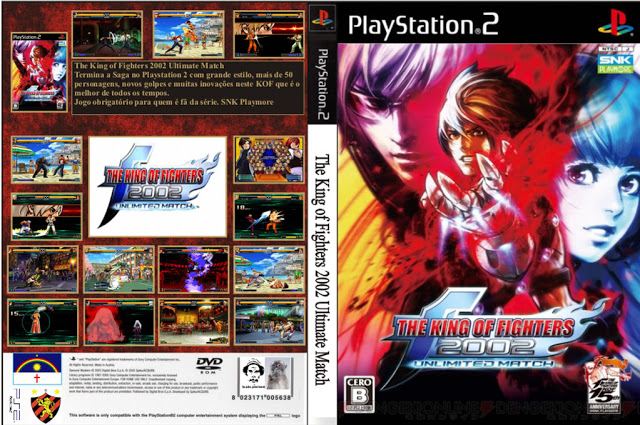 Ps2consola Descargar King Of Fighters 2002 Unlimited Match Ps2 2017