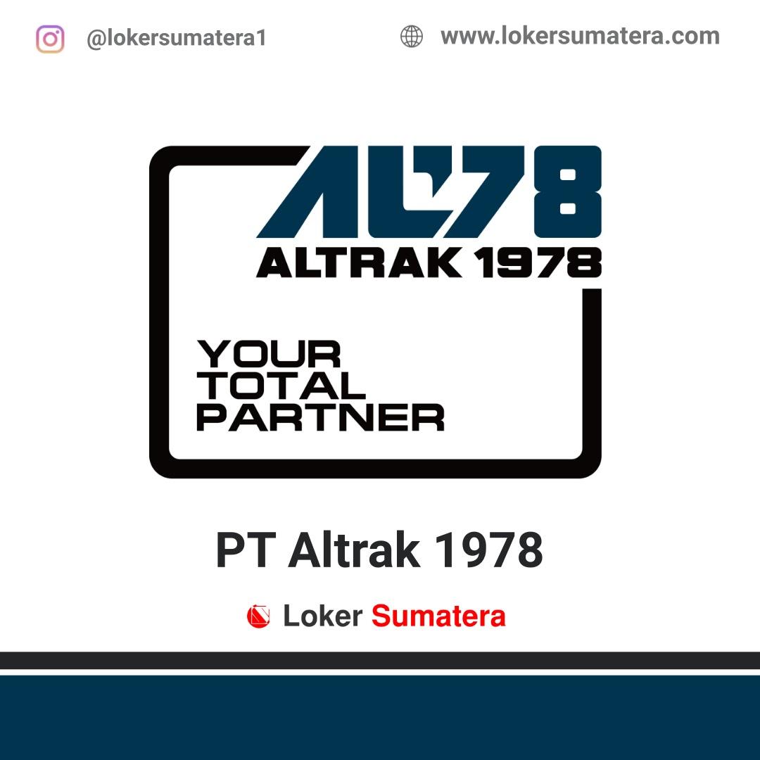 Lowongan Kerja Padang: PT Altrak 1978 Juni 2020