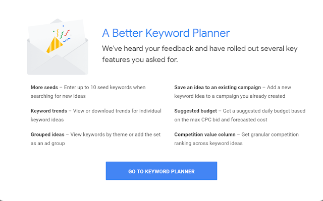 Google Rolled Out Several Key Features to Keyword Planner.