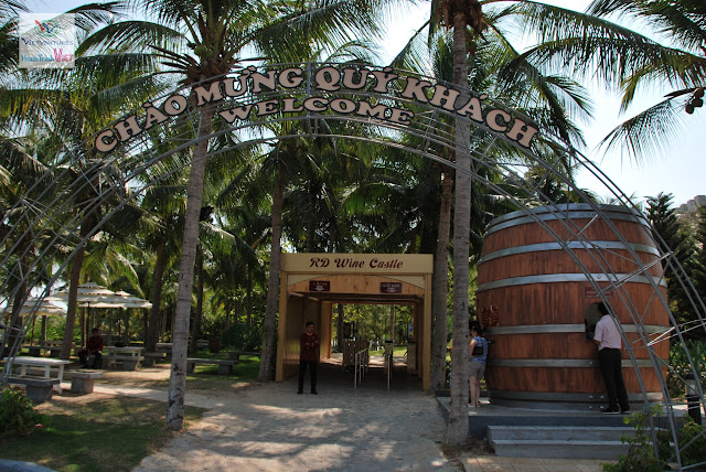 Visiting the wine castle in Muine, Phan Thiet