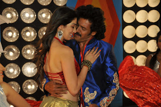 Real star Upendra and south hot actress Lakshmi Rai in Sandalwood Movie Kalpana Stills