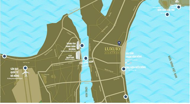 Vị trí dự án Luxury Apartment