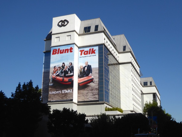 Giant Blunt Talk season 2 billboard