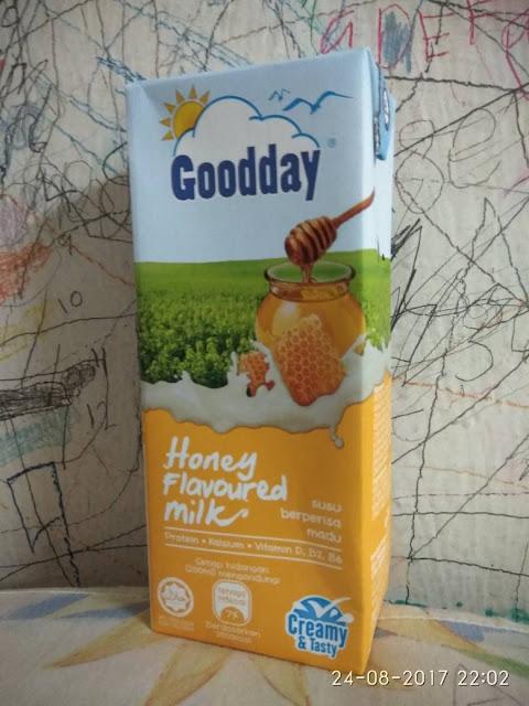 Goodday : Honey & Green Tea Flavoured Milk