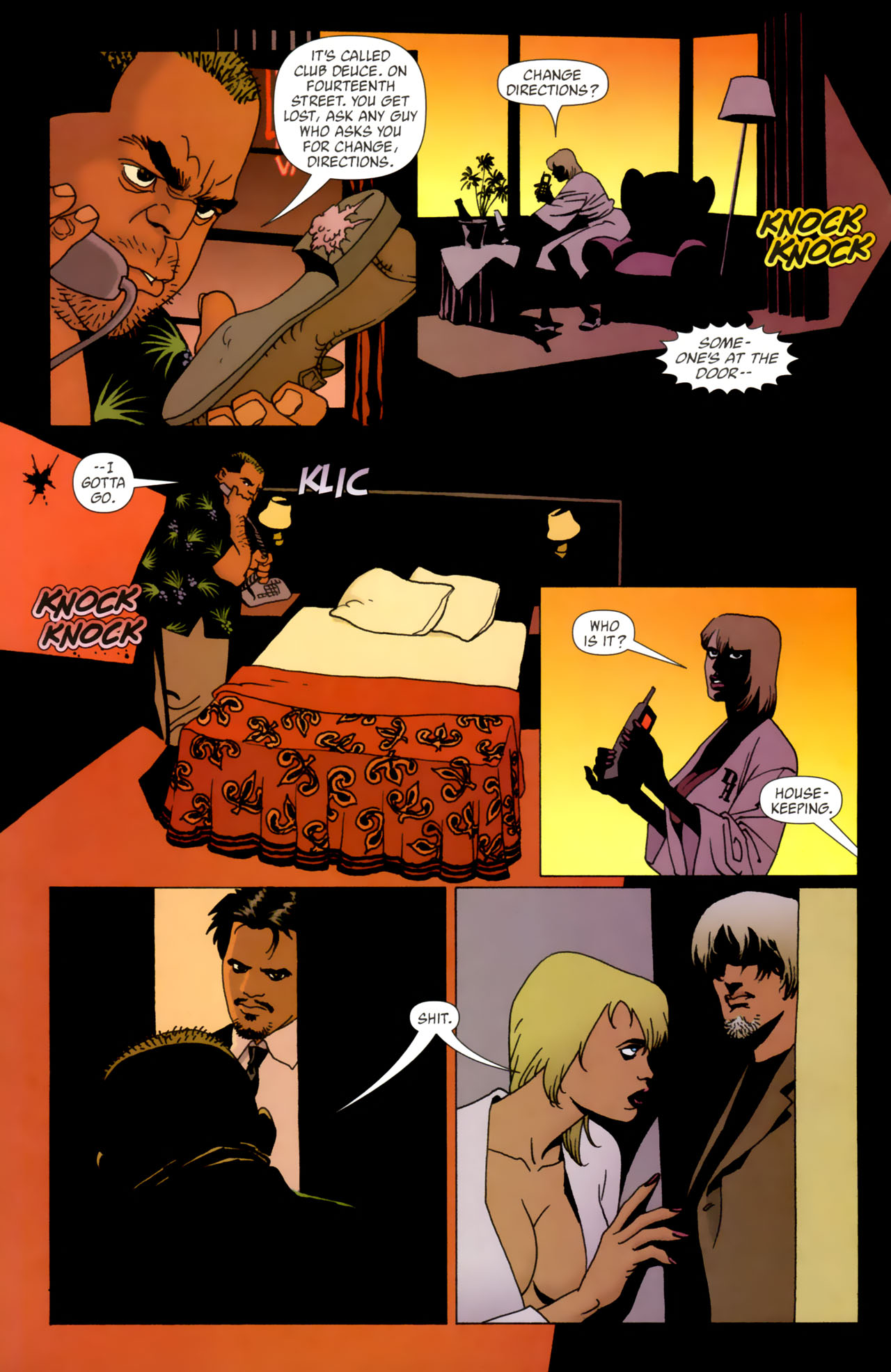 Read online 100 Bullets comic -  Issue #61 - 5