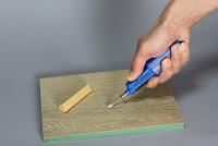 Treppenrenovierung - Hartwachsschmelzer in der Anwendung
