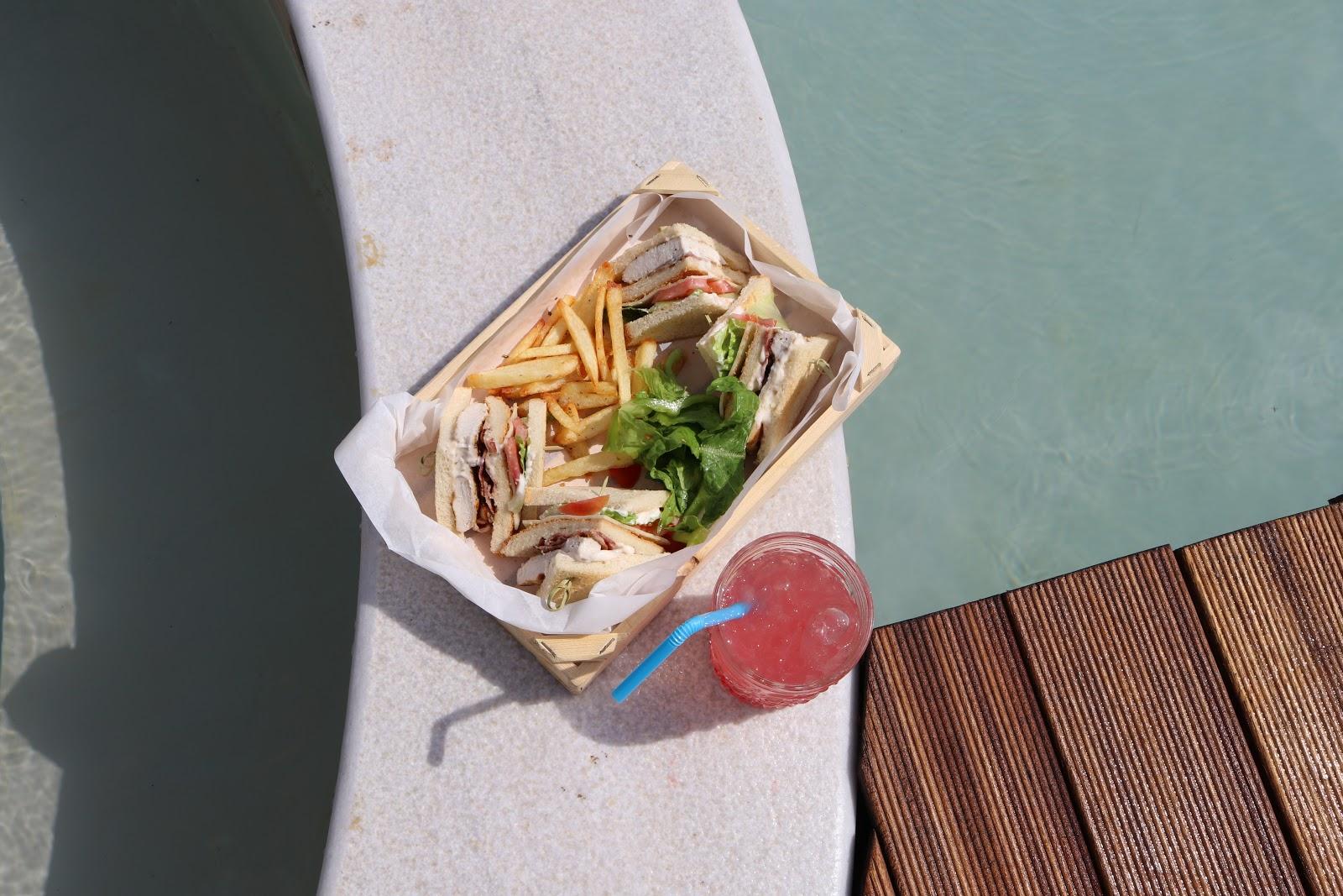 F Zeen Club Sandwich and cocktail, F Zeen Resort, Unique Villas, Kefalonia
