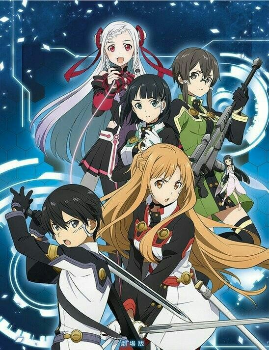 Sword Art Online The Movie: Ordinal Scale