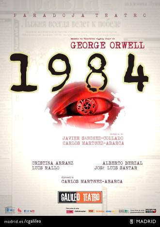 """Teatro: """"1984"""" en el Teatro Galileo"""