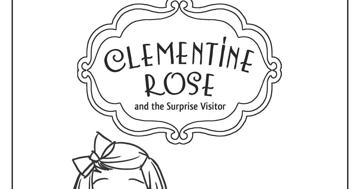 clementine coloring pages - photo#19