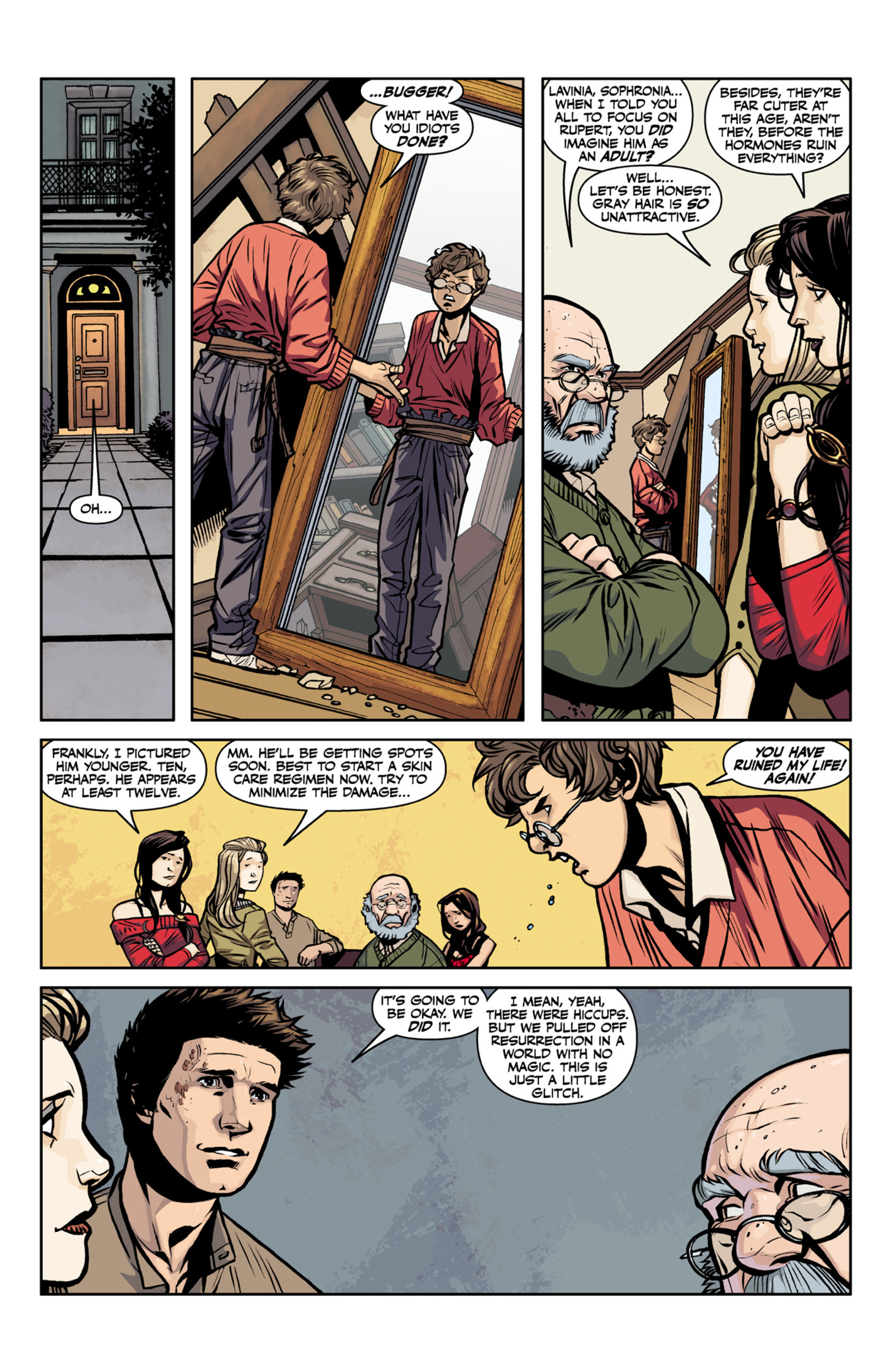 Read online Angel and Faith comic -  Issue #22 - 8