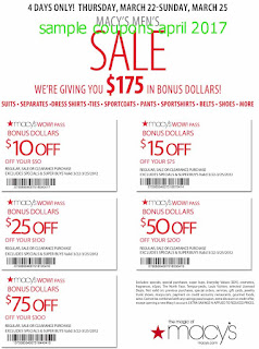 free Discount coupons for april 2017