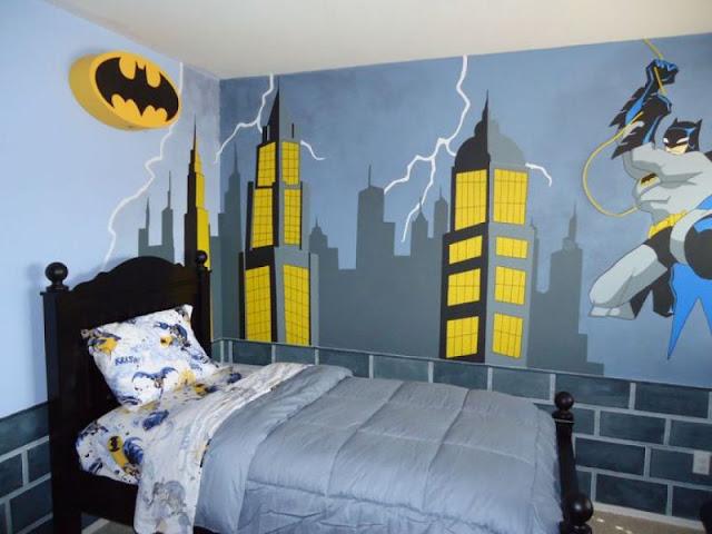 Batman Themed Bedroom Interior Style Ideas Batman Themed Bedroom Interior Style Ideas Batman 2BThemed 2BBedroom 2BInterior 2BStyle 2BIdeas