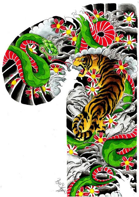 Tatuagem Desenhos Orientais