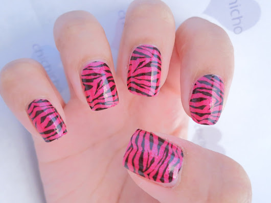 Sally Hansen Salon Effects Real Nail Polish Strips 440 Animal Instinct | chichicho~ nail art addicts