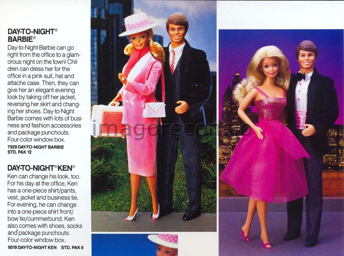 Imago Recensio Barbie  Catalogo Mattel 1986 parte due