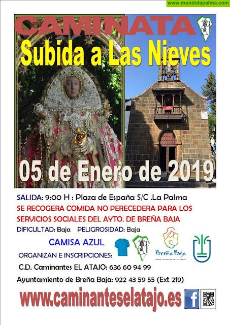 """EL ATAJO: Primera caminata del 2019, """"Subida a Las Nieves"""""""
