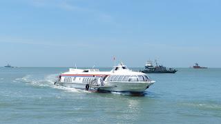 Tàu cánh ngầm cao tốc Sài Gòn - Vũng Tàu