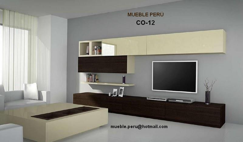 Muebles tv modernos centros de entretenimiento tv for Disenos de muebles para tv minimalistas