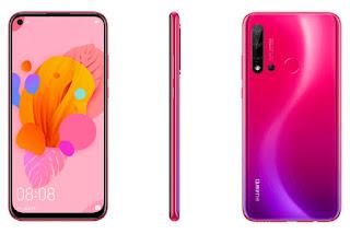 تسريب الهاتف Huawei P20 Lite 2019، وسيضم ثقبًا على مستوى الشاشة، وأربع كاميرات في الخلف