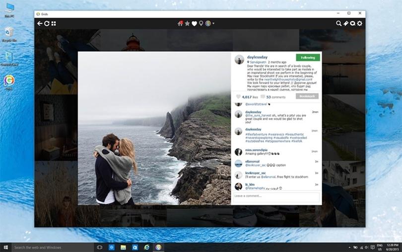 Instagram Masaüstüne Hikaye Paylaşımını Açtı