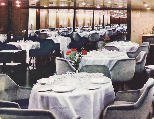 EUGENIO C. Tourist Class A Dining Room