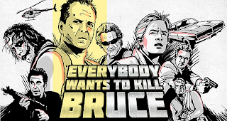 Videokunst : Everybody wants to kill Bruce Willis | Video Remix Kurzfilm ( 1 Video )