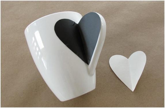 sevgiliye el yapımı kupa bardak hediyesi