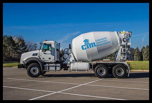 Mack Granite with McNeilus Cement Mixer