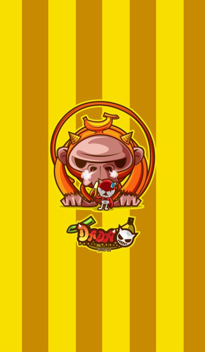 Yellow Monkey(DADA Monsters Collection)