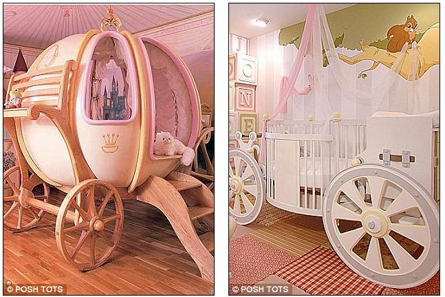 Z Shaped High Chair Office Meme A Solid Gold Rocking Horse And Swarovski Diamante Encrusted Very Posh Tot This 6ft Fanciful Coach Bed Is Handcrafted In England Of Wood Fibreglass Right Cot Like Carriage That Costs