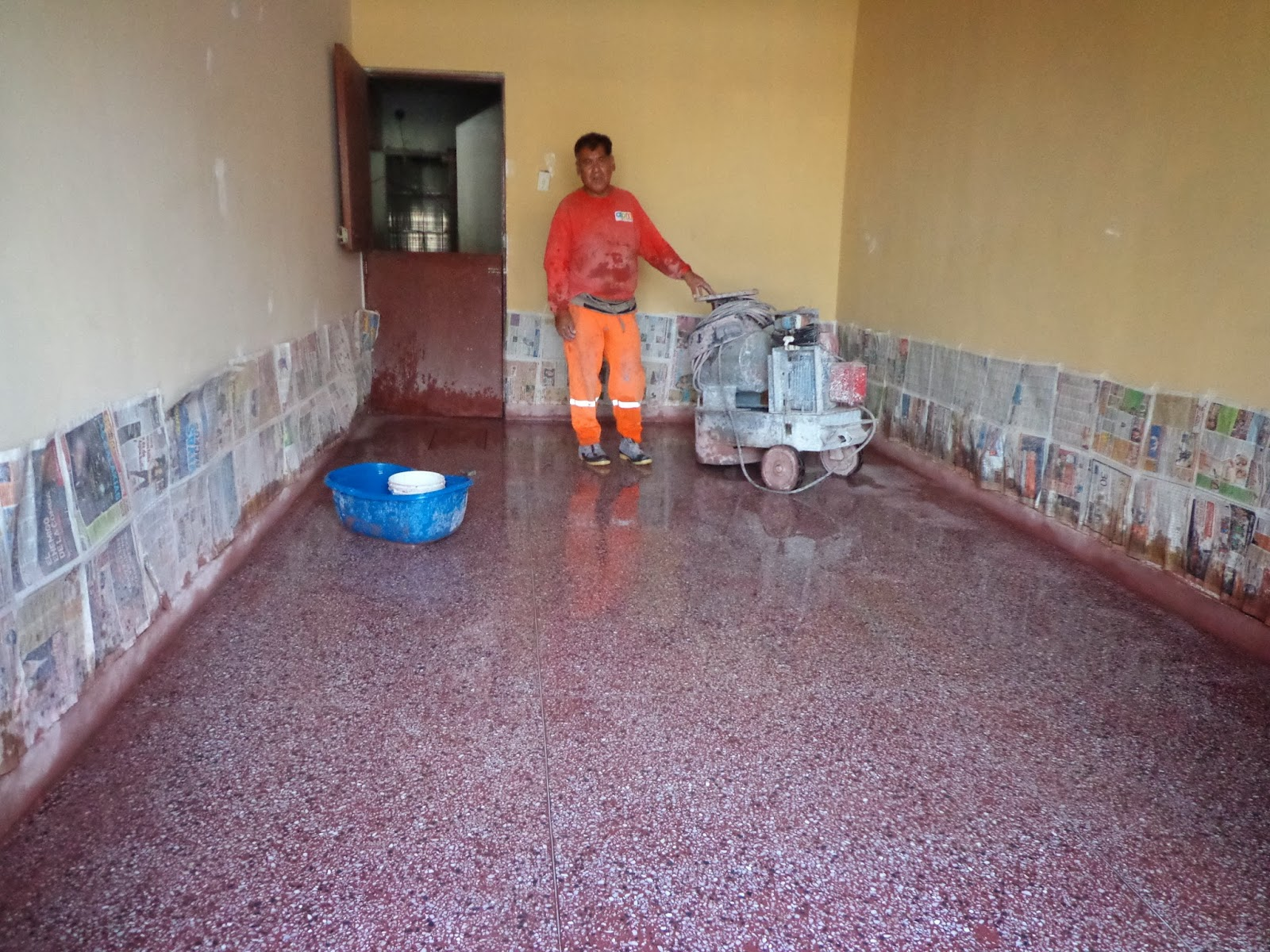 Maestro terrazero marmol reconstituido granito lavado lima - Como puedo sacar brillo al piso de terrazo ...