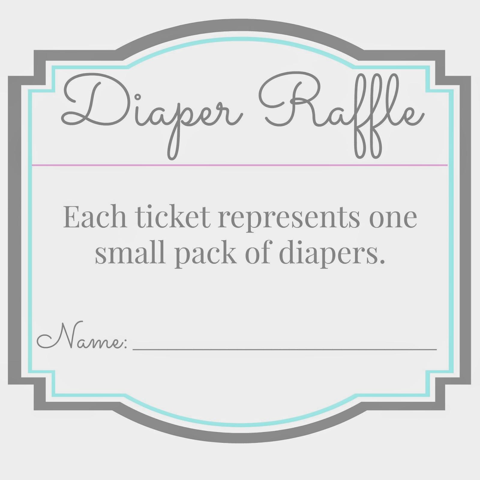 blank diaper raffle ticket - photo #30