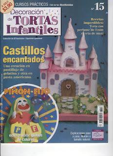 Decoracion de Tortas infantiles Nro. 15 – Castillos encantados