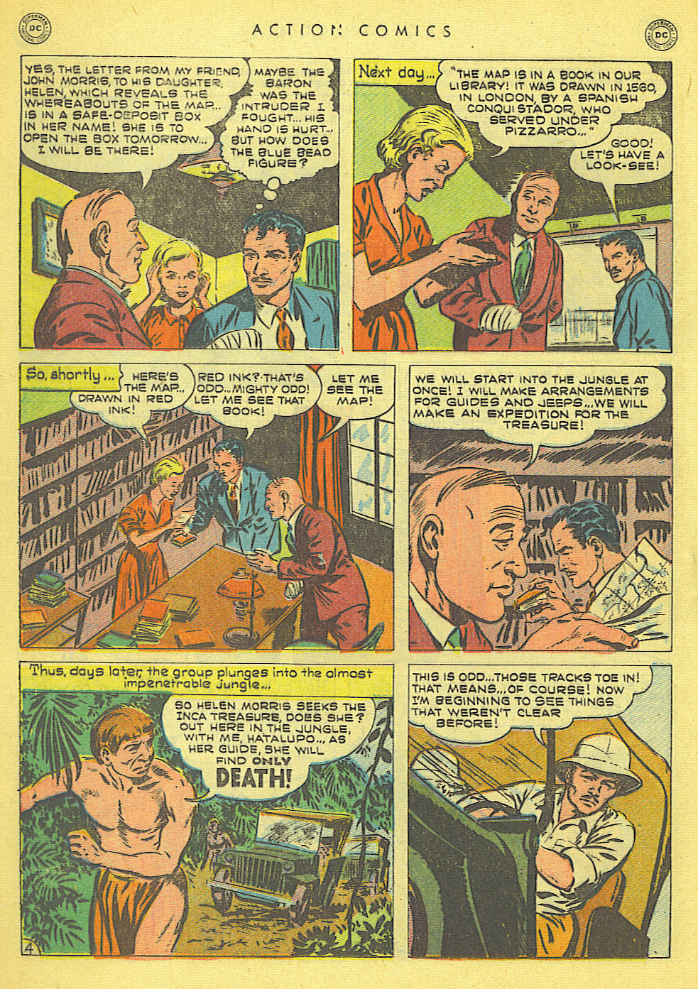 Read online Action Comics (1938) comic -  Issue #152 - 30