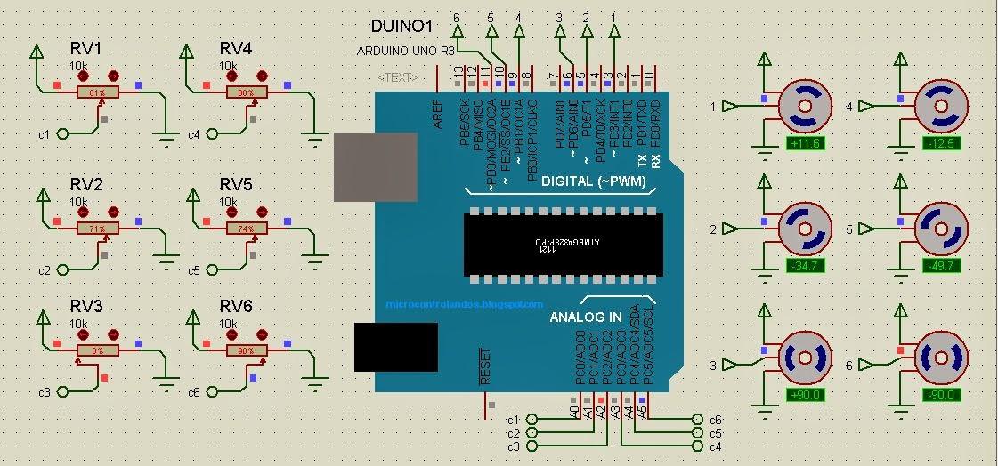 Robotic Arm Using Arduino Code: Arduino matlab robotic arm