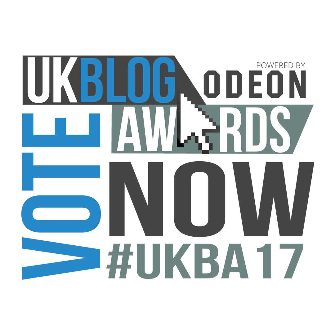 Nominated UK Blog Awards '17