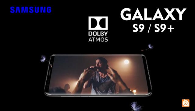 dolby atmos galaxy s9 dan s9+, galaxy s9 dan s9+