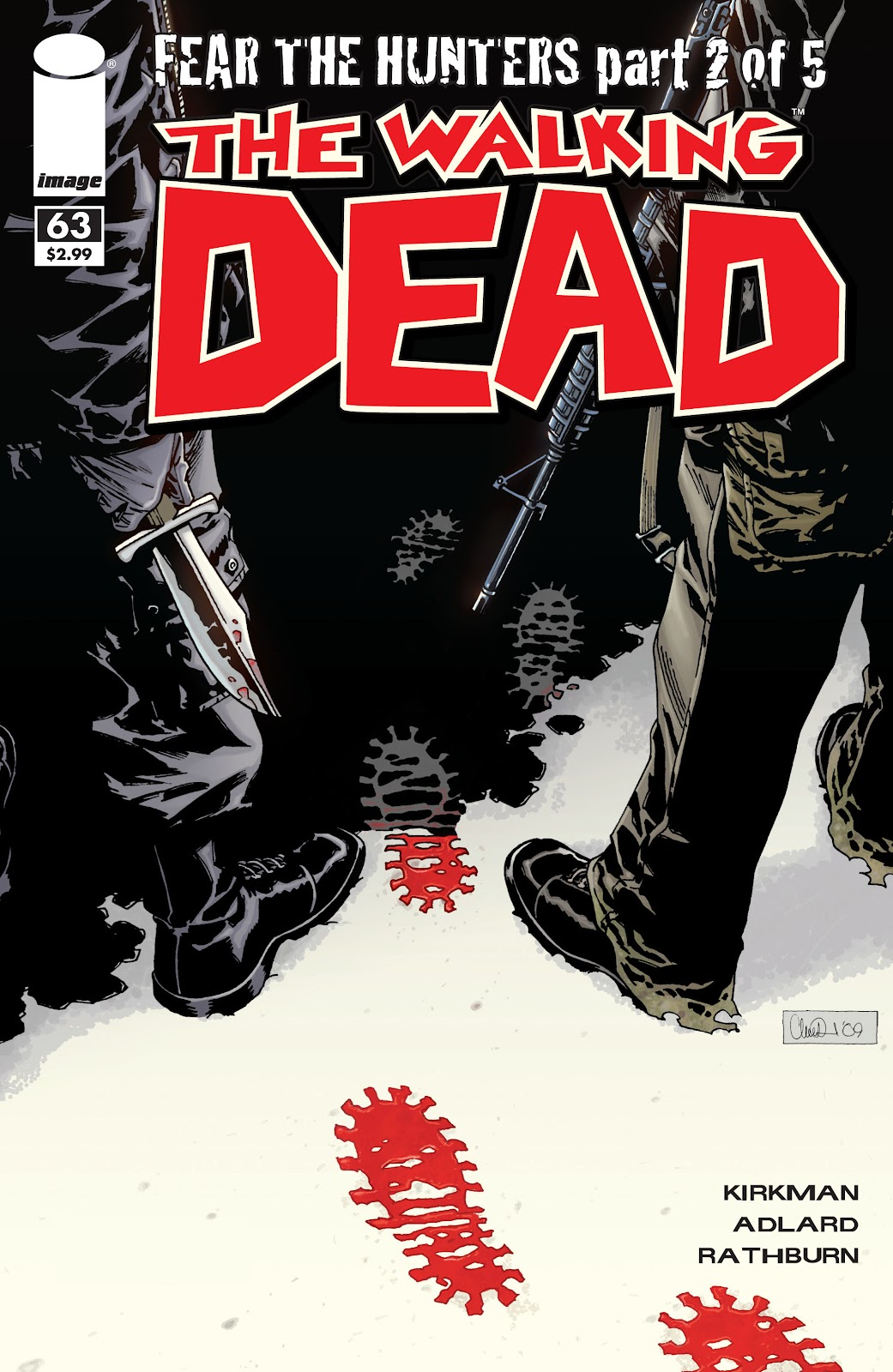 The Walking Dead issue 63 - Page 1