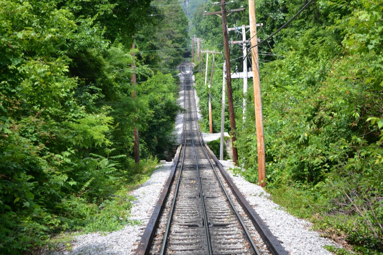Фуникулер на горе Лукаут, Теннесси (Incline Railway, Lookout Mountain, Tennessee)