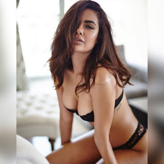 Esha Gupta In Bra And Panty