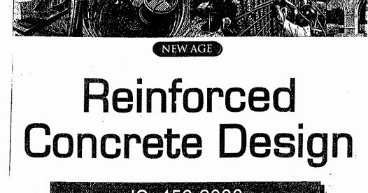 Reinforced Concrete Design Krishnaraju IS 456-200 Book