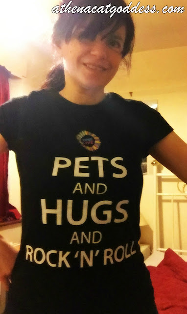 pets and hugs and rock n roll