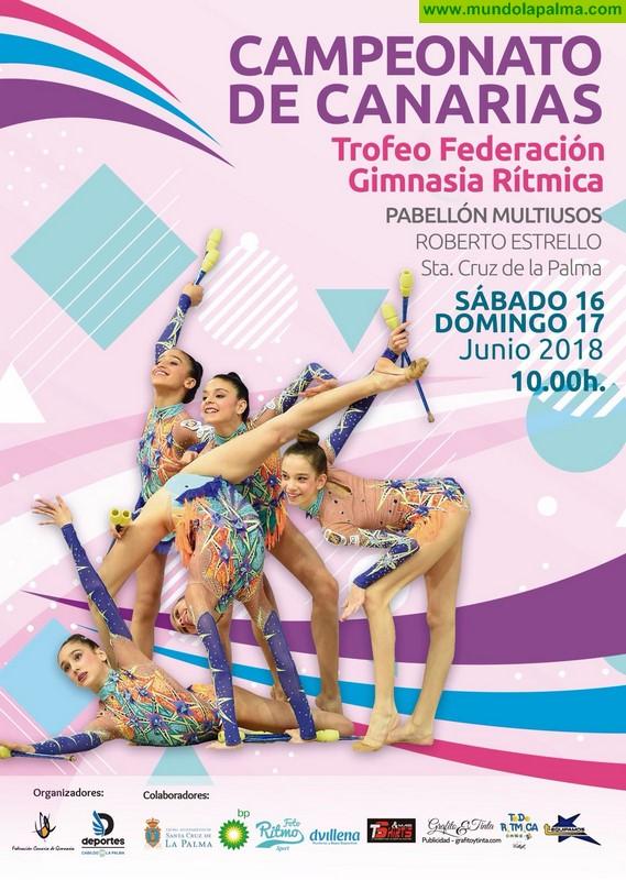 La Palma acoge el Campeonato de Canarias Trofeo Federación de Gimnasia Rítmica con más de 550 participantes de 39 clubes